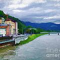 Along The Rhine by Ken Johnson