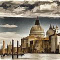 Along The Venice Canal by Jon Berghoff