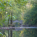 Along The Wissahickon In October by Bill Cannon