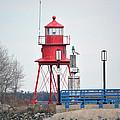 Alpena Lighthouse by Linda Kerkau