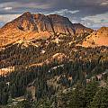 Alpenglow On Brokeoff Mountain by Greg Nyquist