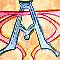 Alpha And Omega - Study #2 by Elizabeth Briggs