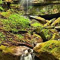 Alpha Falls Cascades by Adam Jewell