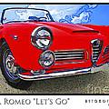 Alpha Romeo Let's Go by David Caldevilla