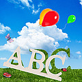 Alphabet Letters by Amanda Elwell