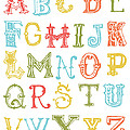 Alphabet Poster by Jaime Friedman