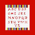 Alphabet Red by Barbara Griffin