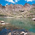 Alpine Lake Beneath Sunlight Peak by Cascade Colors