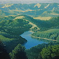 Alpine Lake by Karma Moffett
