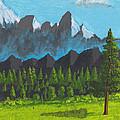 Alpine Meadow by David Jackson