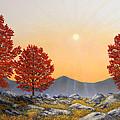 Alpine Meadow II by Frank Wilson