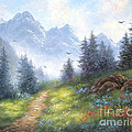 Alpine View by Vickie Wade