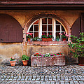 Alsatian Home In Kaysersberg France by Greg Matchick