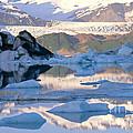 Alsek Glacier In St. Elias Mountains by Art Wolfe
