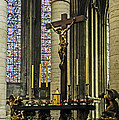 Altar Of Rouen Cathedral by Elvis Vaughn