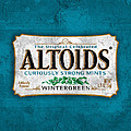 Altoids Wintergreen Scratches by Raphael Campelo