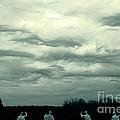 Altostratus Undulatus Asperatus Clouds by Jackie Mestrom
