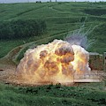 Aluminium Powder Explosion by Crown Copyright/health & Safety Laboratory Science Photo Library