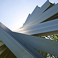 Aluminum Sculpture Detail by Mary Lee Dereske