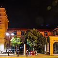 Alvarado Transportation Center Night by Angus Hooper Iii