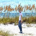 Cool On Anna Maria Island by Susan Molnar