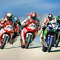 Ama Superbike Grid by Blake Richards