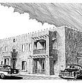 Amador Hotel In Las Cruces N M by Jack Pumphrey