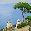 Amalfi Coast From Ravello by Mike Robles