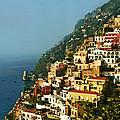 Amalfi Coast Hillside II by Steven Sparks