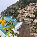 Amalfi Coast Town by George Oze