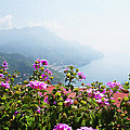 Amalfi Coast View From Ravello Italy  by Irina Sztukowski
