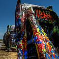 Amarillo -  Cadillac Ranch 006 by Lance Vaughn
