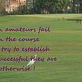 Amateur Golf  by Geeta Biswas