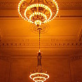 Amazing Antique Chandelier - Grand Central Station New York by Miriam Danar