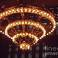 Amazing Art Nouveau Antique Chandelier - Grand Central Station New York by Miriam Danar