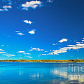Amazing Clear Lake Under Blue Sunny Sky by Michal Bednarek