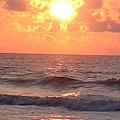 Amazing Golden Lavender South Carolina Sunrise by Paddy Shaffer