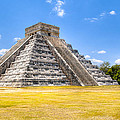 Amazing Mayan Pyramid At Chichen Itza by Mark Tisdale