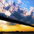 Ambassador Bridge by Brian Cadwallader