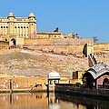 Amber Fort - Jaipur India by Kim Bemis