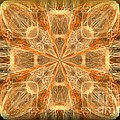 Amber Fractal by Maria Urso