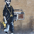 Ambivalence Banksy by David Resnikoff