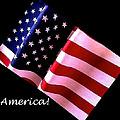America Greeting Card by Bill Owen