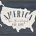 America The Beautiful by Jo Moulton