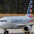 American Airlines A319 by Richard Jack-James