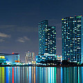American Airlines Arena And Condominiums by Carsten Reisinger