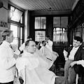American Barbershop, C1900 by Granger