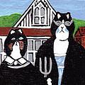 American Cat Gothic by Arleen McCann
