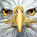 American Eagle - Bald Eagle By Betty Cummings by Sharon Cummings