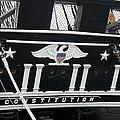 American Eagle On World's Greatest Wooden Warship by Brenda Kean